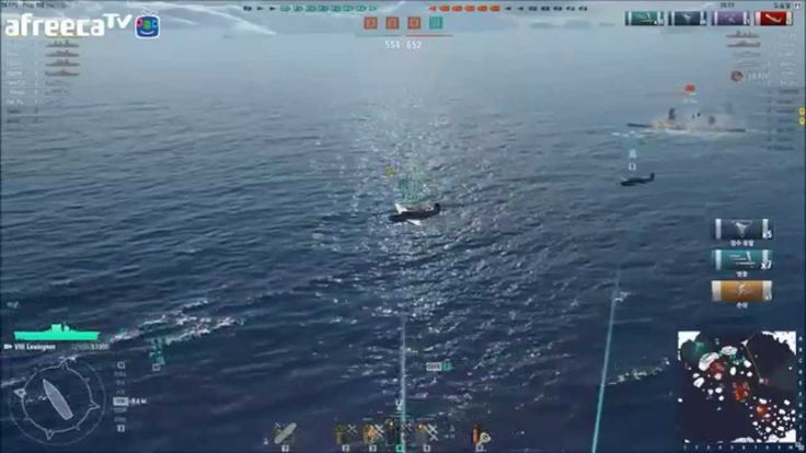 World of warships #31 raid by CV Lexington