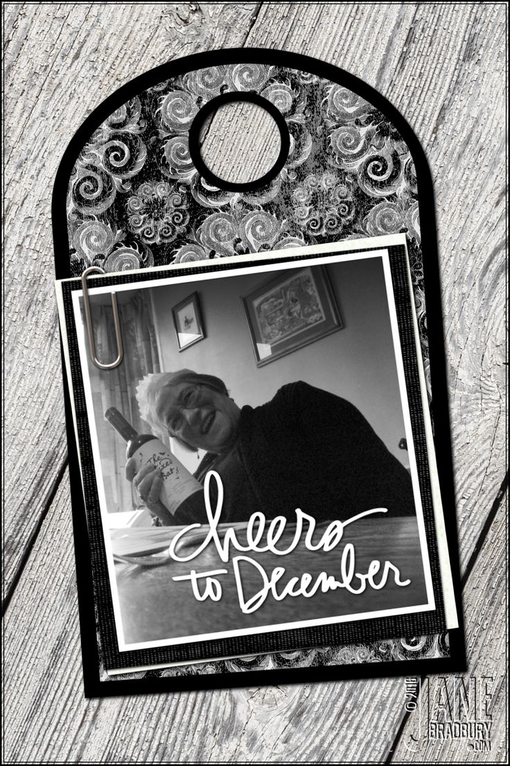 AED12Days2016 - using the free Cheers to December stamp and digital paper from Shabby Princess aed12days2016