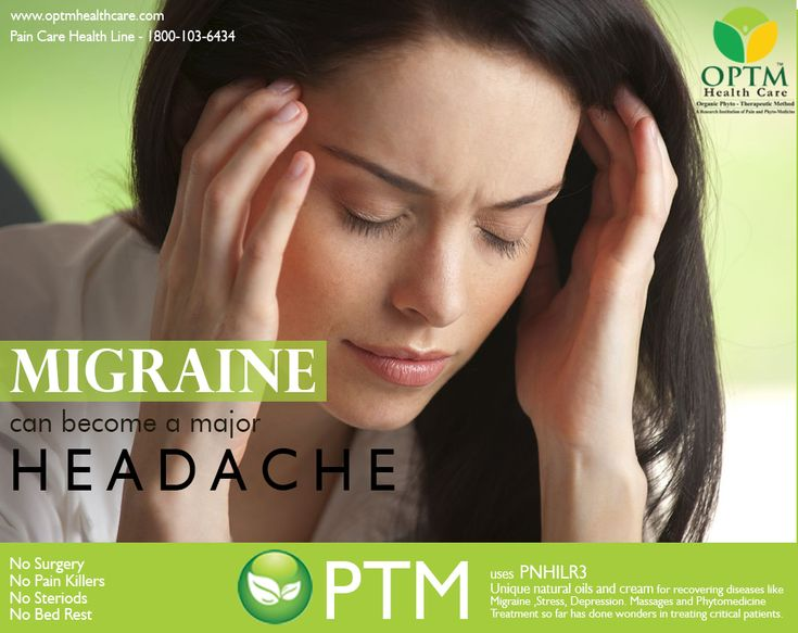 OPTM Health Care provides treatment for migrane by using phytomedicine and give relief from pain and stress related problems.
