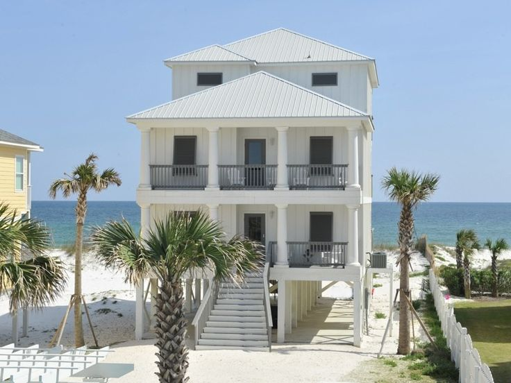 Homes, Single Family Vacation Rental - VRBO 340723 - 8 BR Orange Beach Central House in AL, Luxury Gulf Front Home W/Prvtpool! Great Locatio...