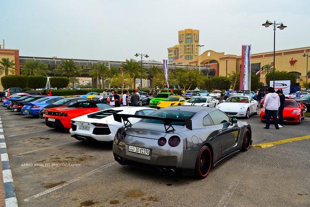 Supercars Nissan Lamborghini Ferrari Porsche Gtr