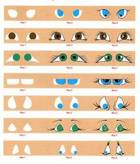 How to paint doll's eyes. artdollstoday.co #dolls #bjd