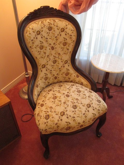 VINTAGE NURSING CHAIR Estate sale from classy Upper Hunt Club home – 114 Topley Crescent, Ottawa ON. Sale will take place Sunday, May 10th 2015, from 8am to 2pm. Visit www.sellmystuffcanada.com to view photos of all available items!