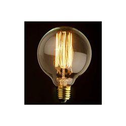 Ampoule Décorative Rétro Edison Globe 8 cm Filament Incandescent 60W E27…