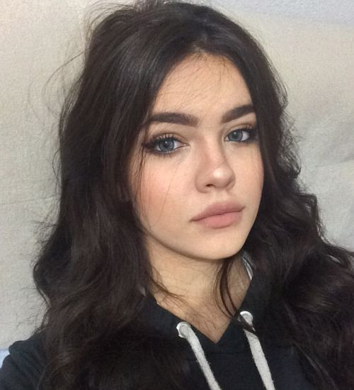 grafika girl, beauty, and hair