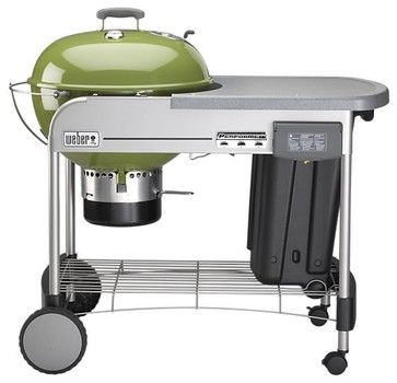Weber Performer Grill - eclectic - Outdoor Grills - Crate&Barrel ** I love the look of this one!