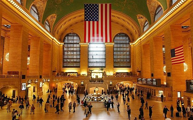 Grand Central Station: Took the subway to Metropolitan Museum of Art