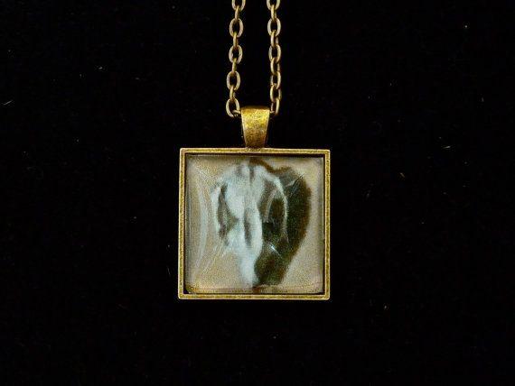 Possum Skull Brass Necklace by etuckerart on Etsy, $22.00