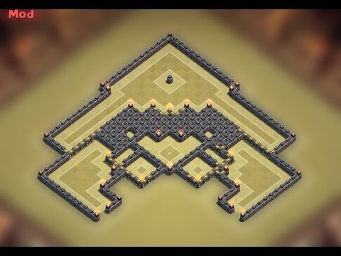 Clash of Clans - Town Hall 9 (TH9) BEST War Base 2015 [Anti 2 Stars] - YouTube
