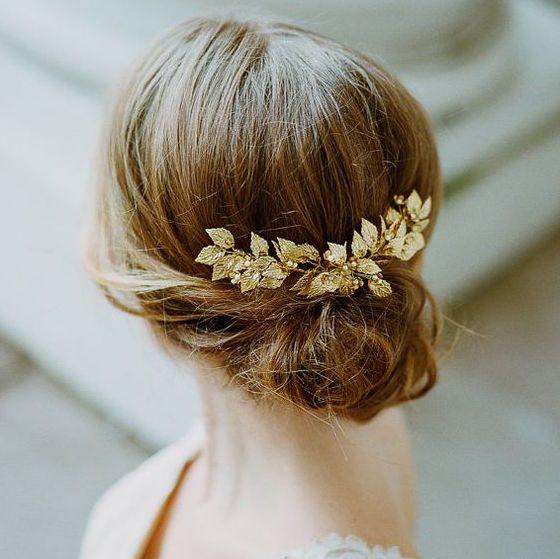 今年の花嫁ヘアにマスト!ヘアアクセサリーは《リーフモチーフ》をセレクトしたい♡ | ZQN♡