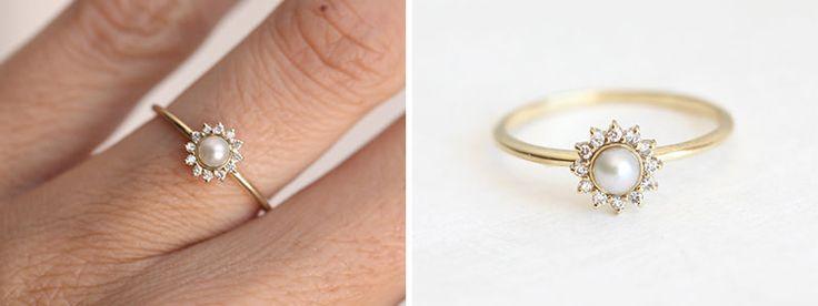 joia-vintage-para-noivado-fora-do-tradicional-noivo-noiva-anel-de-noivado-perola
