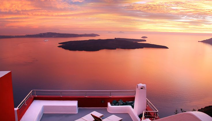 Santorini... Is there anywhere else in the world you would rather be?...