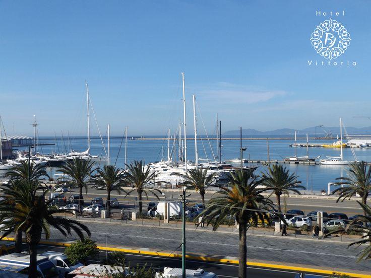 http://www.hotelbjvittoria.it   #panorama #Cagliari #Sardegna
