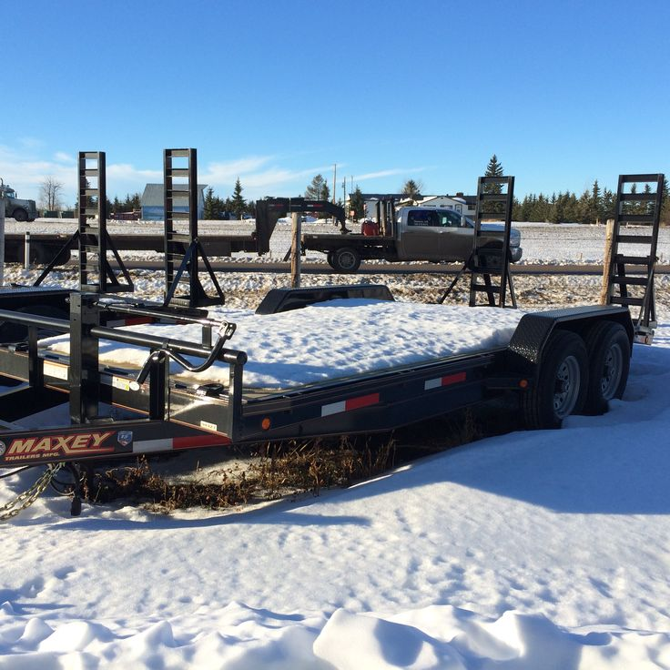 "Channel Carhauler 34327 2x 7k axles Black 18' x 83"" - HWY 43 TRAILER SALES"