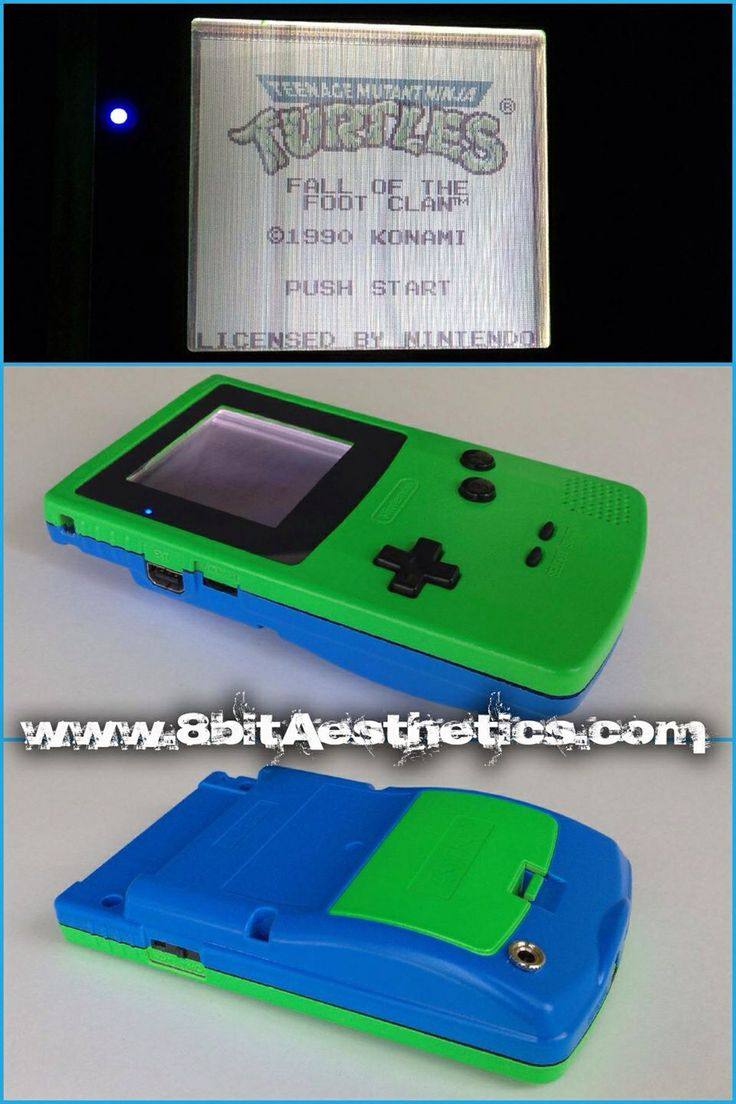 Game order colors - Blue Green Gameboy Color Message Us At Www 8bitaesthetics Com To Place