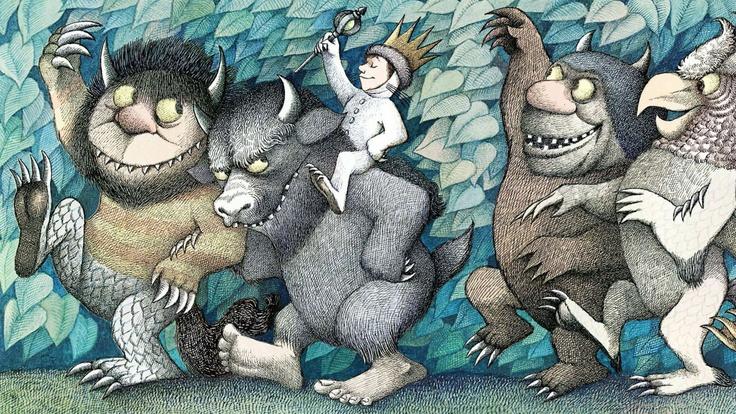 Wonderful children books illustrations by Maurice Sendak