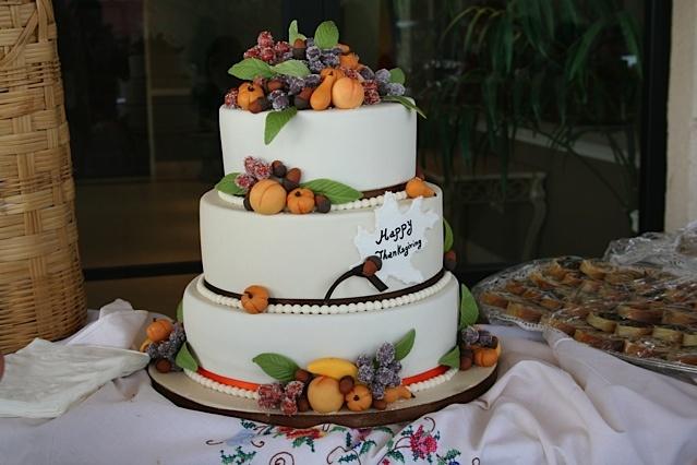 Thanksgiving Cake Art