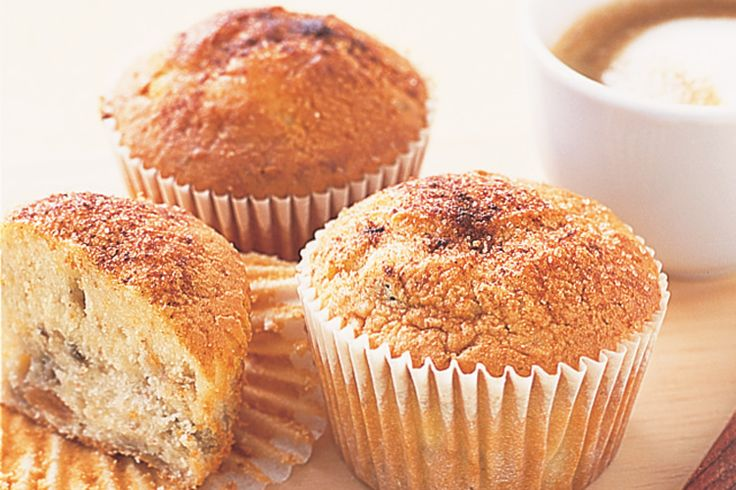 These classic banana muffins are fabulous breakfast treats for when you're on the go!