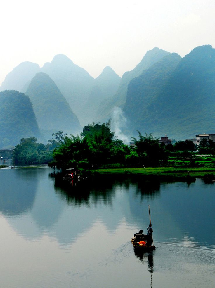 "Peter Leung - ""Yangshuo"", Guilin, China 