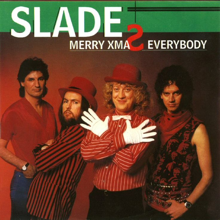 """""""Merry Xmas Everybody"""" is a 1973 song by the English rock band Slade."""