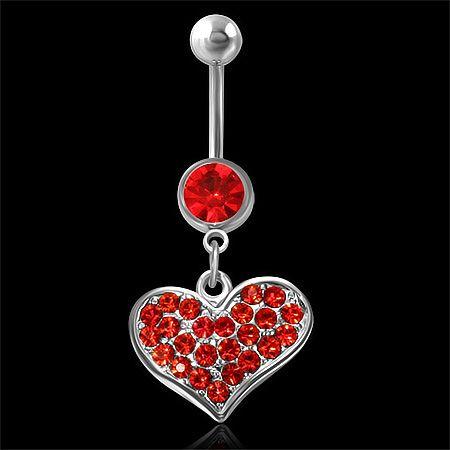 Piercing love red