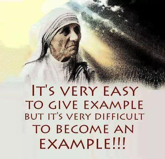 St. Mother Teresa of Calcutta.