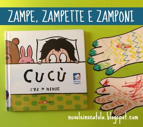 """Nuvole in scatola: """"Cucù"""" di Zoolibri e tutte le sue zampe."""