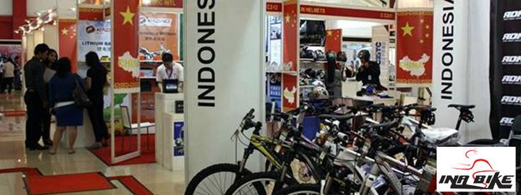 Inabike 2015 Jakarta - The 4th Indonesia International Bike, Parts & Accessories Exhibition #ExpoIndonesia