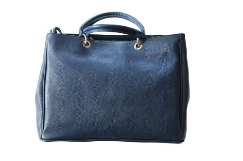 "Tasche ""Roma"" dunkelblau #bag #leather #leathergoods #accessoires #handtasche"