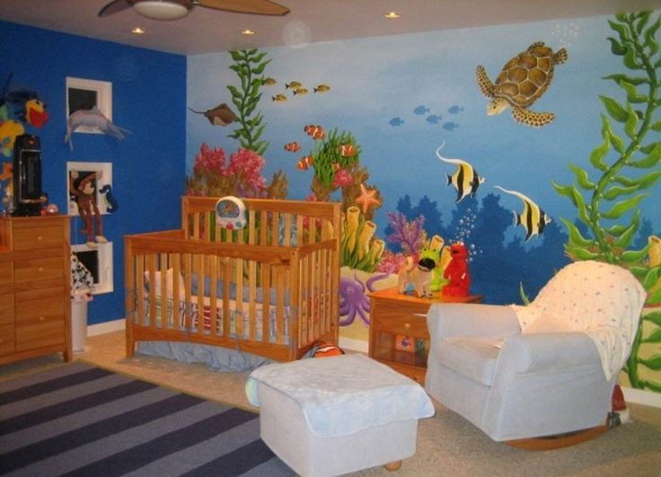 25 best images about church nursery ideas on pinterest for Church mural ideas
