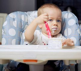 iaurtul la bebelusi