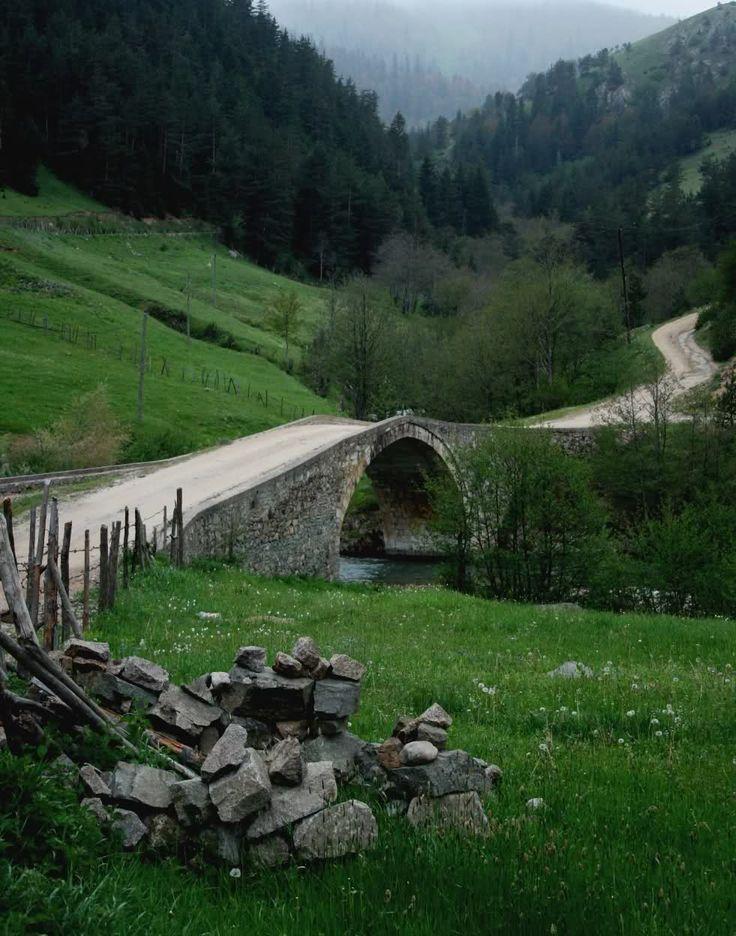 Çakrak yaylası taş köprü/Giresun/// Çakrak merkezinde üç kemer köprü, iki tarihi kilise kalıntısı, Çakrak yakınlarındaki Kırkharman Obasında sağlam bir kilise ile beş değirmen kalıntısı bulunmaktadır.
