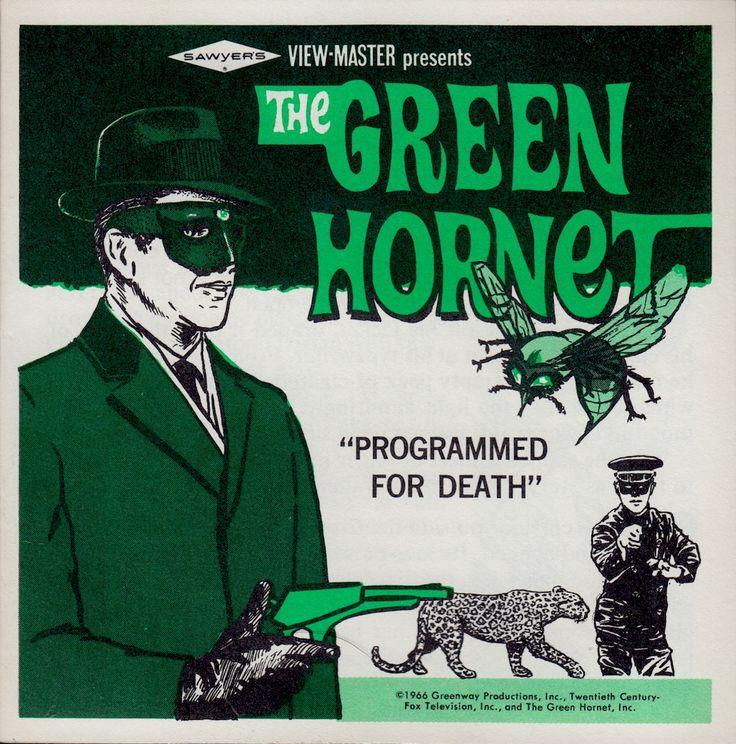 THE GREEN HORNET View-Master booklet 1966 booklet (minkshmink)