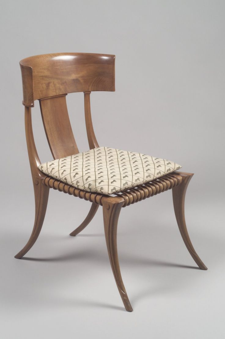 Furniture rome ancient roman furniture chairs it is a chair with - Klismos Side Chair With Cushion Designer Terence Harold Robsjohn Gibbings British 1905 Mod Furnitureantique