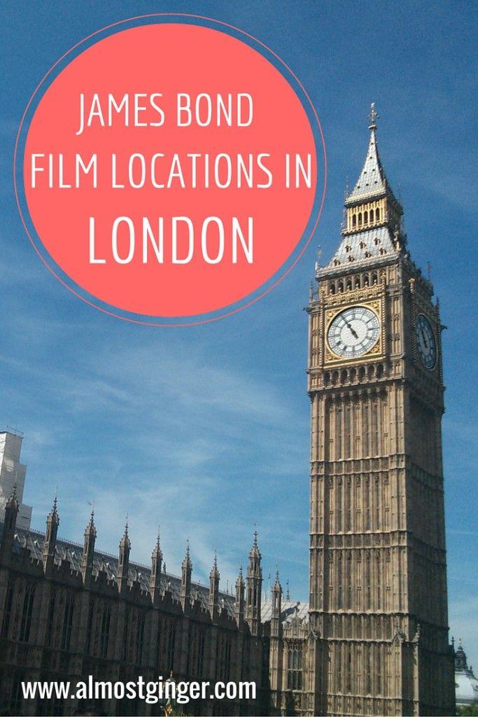 James Bond Film Locations in London | almostginger.com