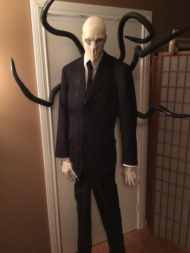 Halloween Props Diy, Slenderman, Alien Halloween