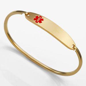 Gold Arthritis Bracelets