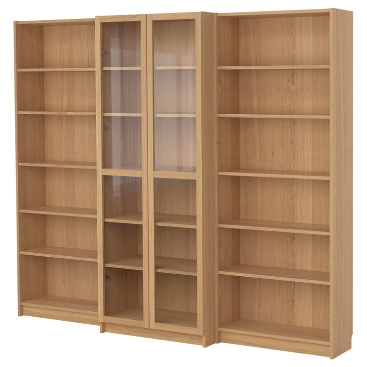 oak veneer bookcase combination betty ideas doors oak billy bookcases
