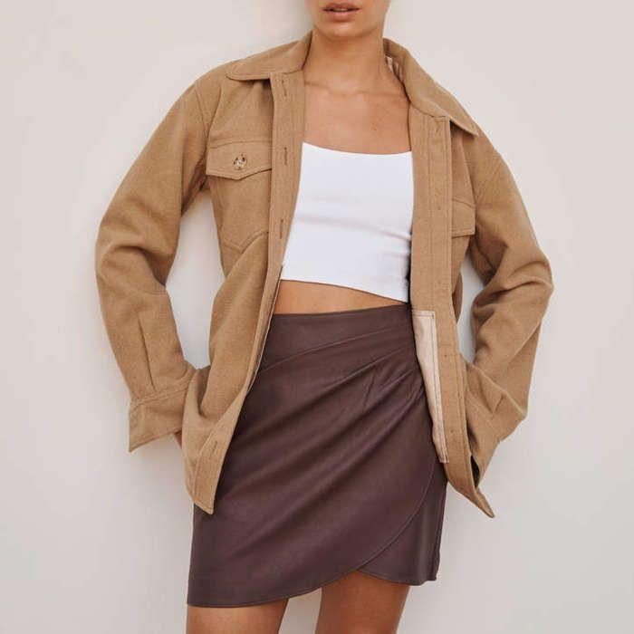 10 Best Leather Skirts   Vegan leather pencil skirt, Skirts, Mini skirt style