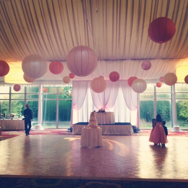 14 best marriott lincolnshire hotel wedding decor images on pastel lanterns and natural lighting create a whimsical feeling in the lincolnshire marriott resorts grand marquee junglespirit Gallery