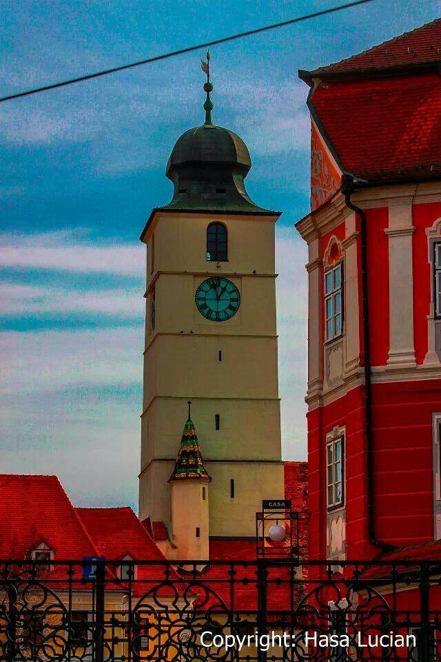 Turnul sfatului, Sibiu, Transilvania, Romania (by Lucian Hasa)