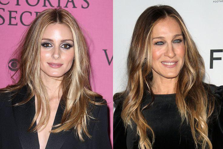 Sarah Jessica Parker And Olivia Palermo Bronde Hair