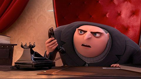 Nervous Phone Call - Movie Clip from Despicable Me 2 at WingClips.com