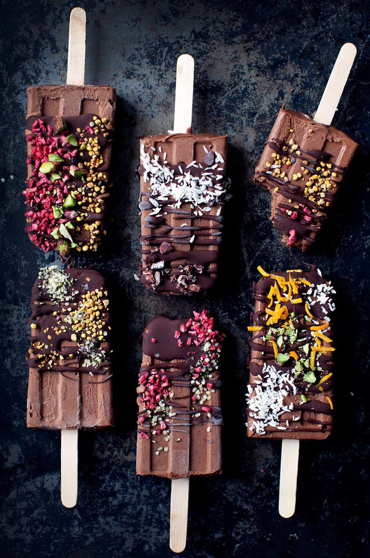5-ingredient Fudgesicles