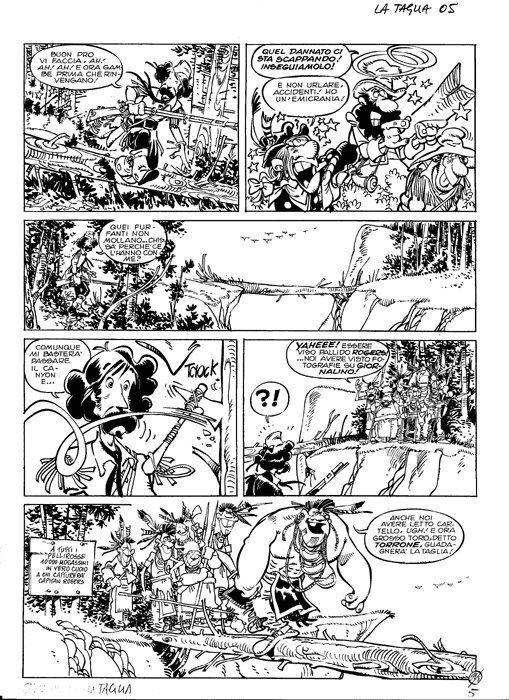 Giorgio Cavazzano : Capitan Rogers - La taglia - page n. 5