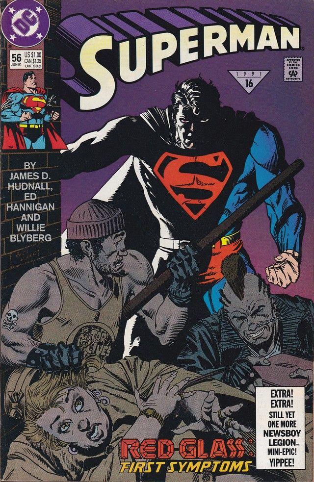 Superman 56 Dc Comics Vol 2 Superman Comic Comics Superman