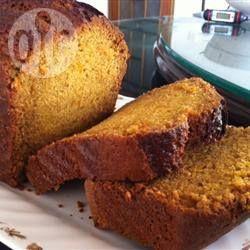 Cake au potiron et orange