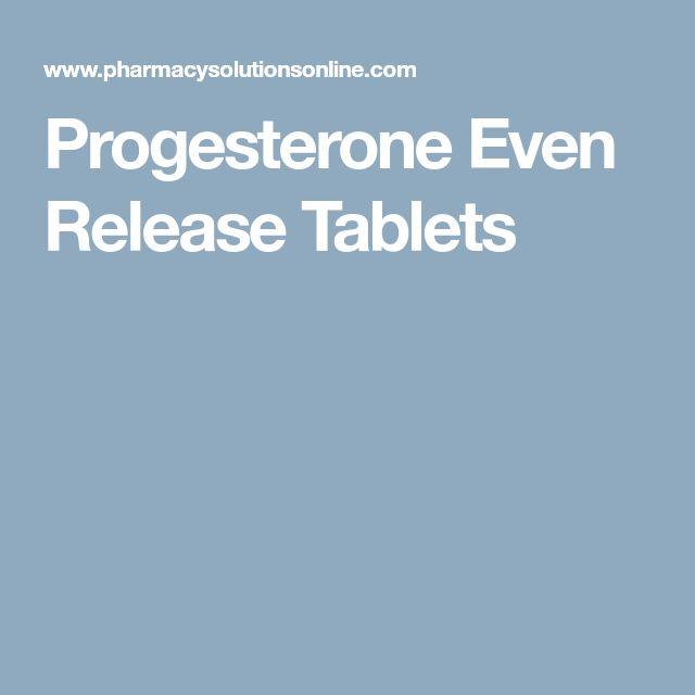 Progesterone Even Release Tablets