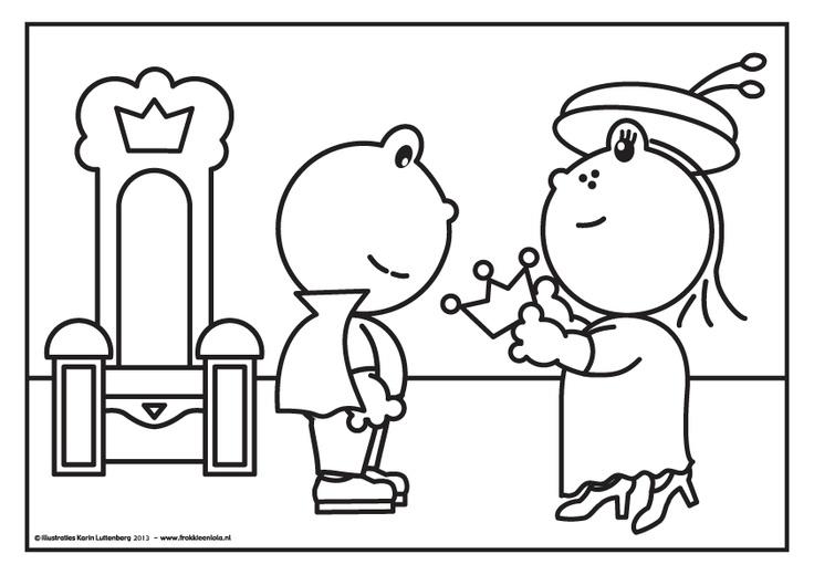 Lola geeft de kroon over aan Frokkie! Hij wordt koning!!