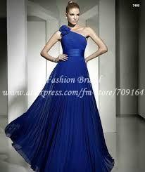 Resultado de imagen para vestidos de fiesta azul rey